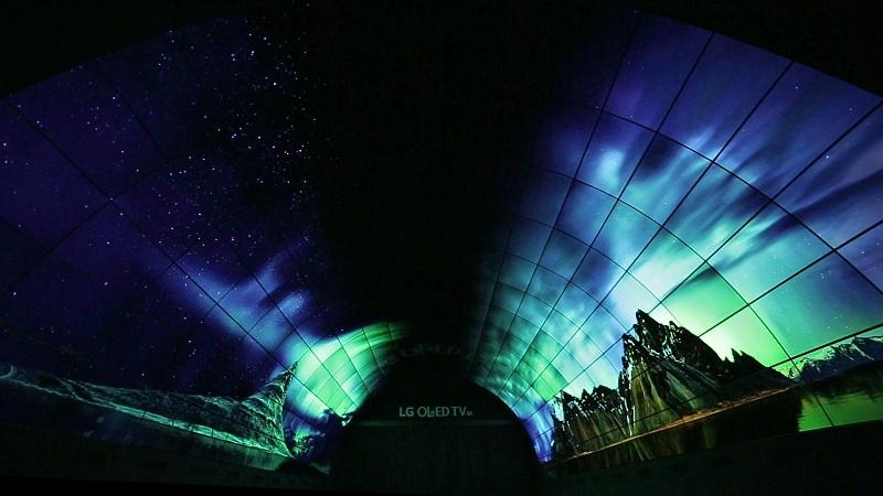IFA 2016: LG privíta návštevníkov veľtrhu OLED tunelom s 450 miliónmi pixelov