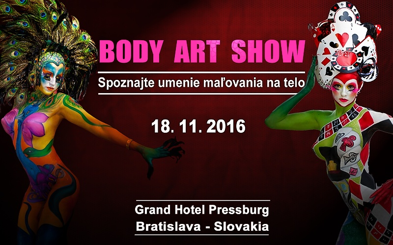 Už 3.ročník predstavenia umenia bodypaintingu na Slovensku