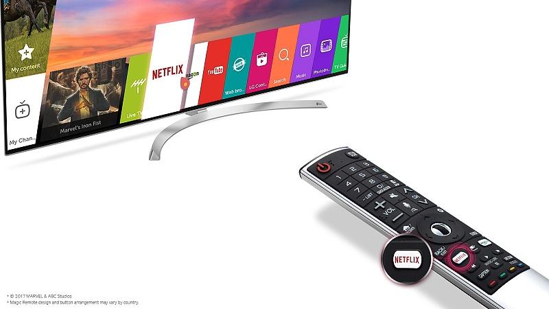 Netflix odporúča televízory LG s aktívnym HDR pre vynikajúci zážitok zo sledovania