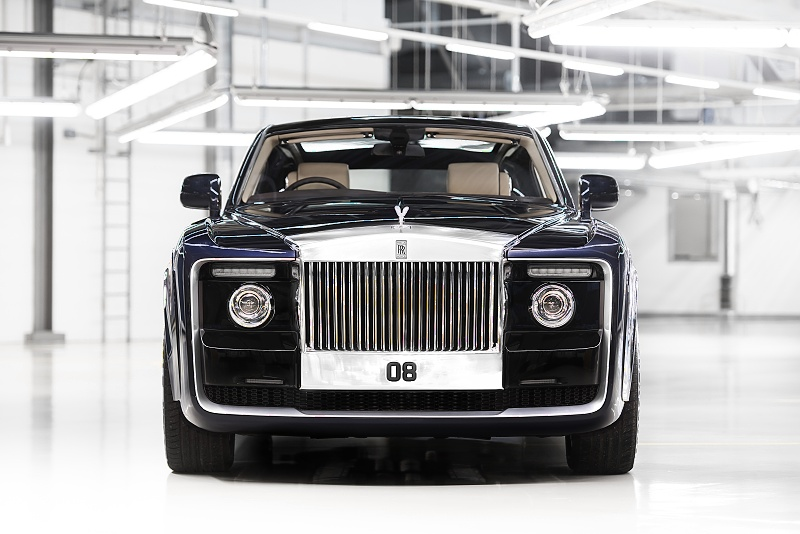 """Rolls-Royce """"Sweptail""""  – realizácia sna jedného zákazníka"""