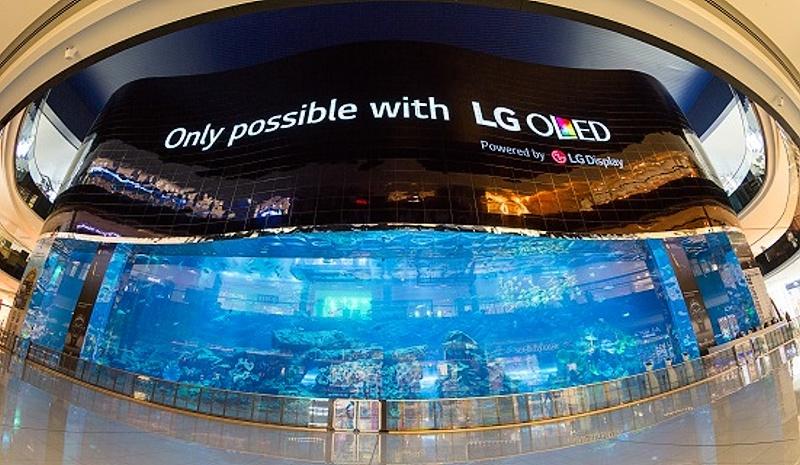 """LG predstavuje najväčší """"oledový"""" obraz na svete"""