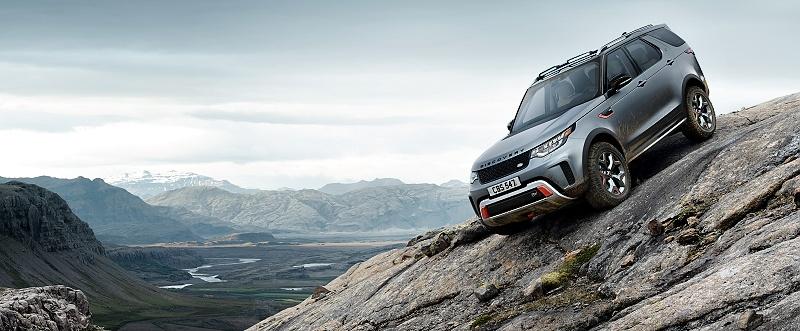 Land Rover  Discovery SVX odhaľuje na frankfurtskom autosalóne nový najvýkonnejší model