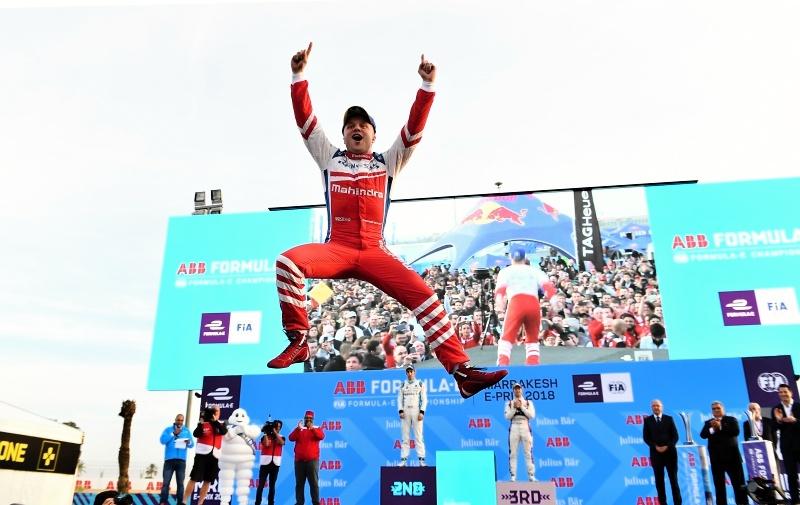 Felix Rosenqvist sa stal minulý týždeň víťazom druhých pretekov sezóny v Marrákeši