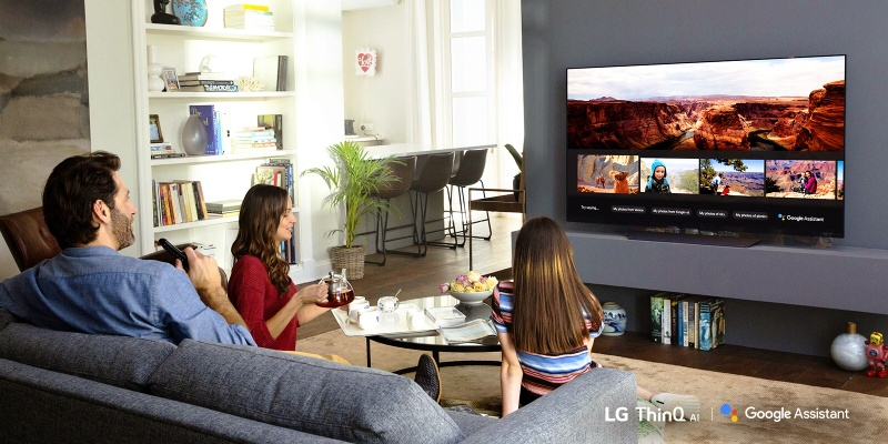 LG predstavuje službu Google asistent na AI-Enabled televízoroch 2018