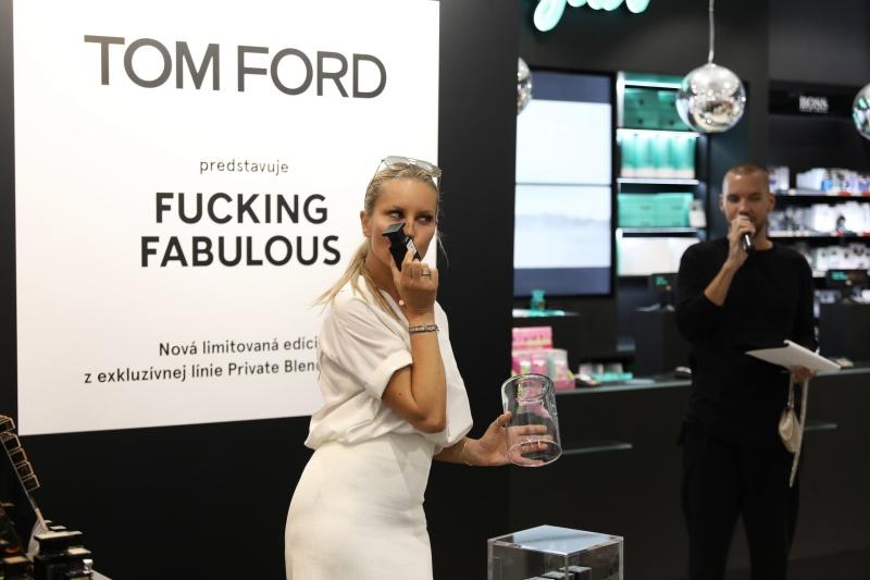 Simona Krainová predstavila exkluzívnu vôňu Tom Ford Fucking Fabulous