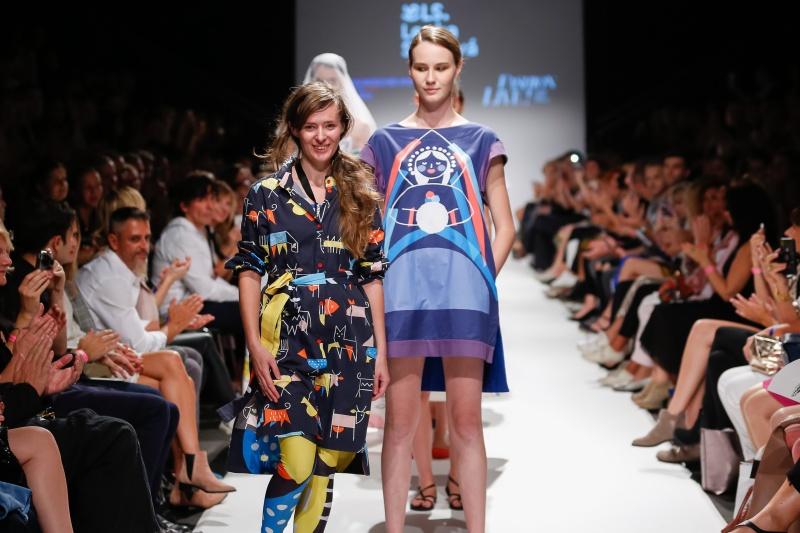 Farebná kolekcia FULLOVE od Lenky Sršňovej zožala úspech na Viedenskom týždni módy