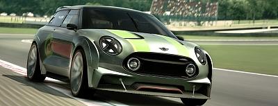 MINI v hre Gran Turismo® 6. Milovníci hier si už od marca môžu vychutnať jazdu na virtuálnom MINI Clubman Vision Gran Turismo