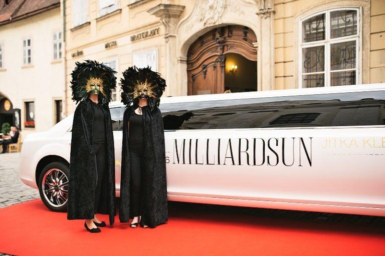 V Mirbachovom paláci zažiarili módna návrhárka Jitka Klett a časopis Milliard Sun