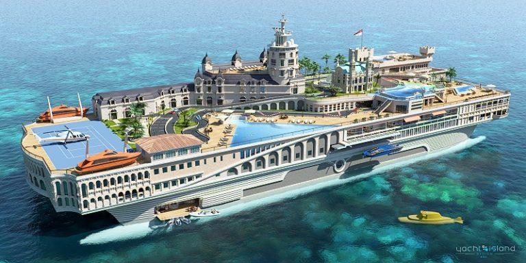 Luxusné Monako na vode
