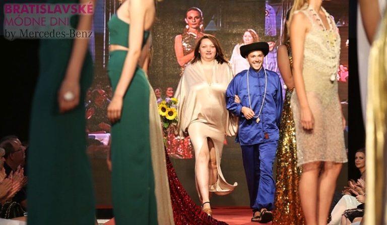 Na Bratislavských módnych dňoch zaujal mladý talentovaný dizajnér Adam Peťovský