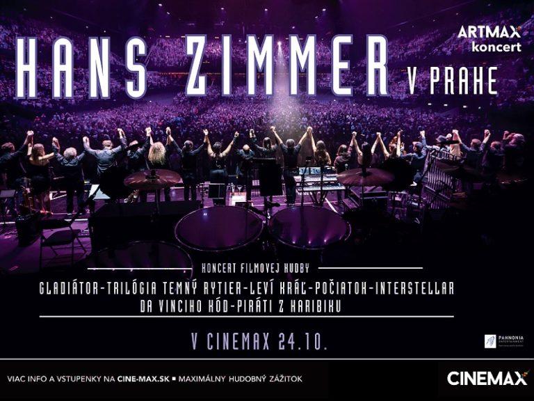 Hans Zimmer v Prahe  (v kinách Cinemax už 24. 10. 2017)