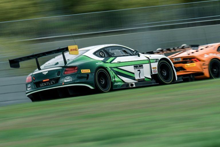Tím Bentley zvíťazil v sérii  Blancpain GT