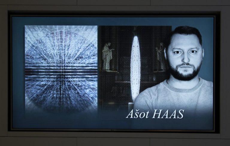 Slávnostná vernisáž výstavy Ašot Haas