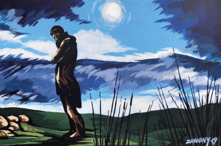 Žraloky, mytológia i vikingovia. V Carlton Savoy Art Gallery vystavuje Peter Žanony